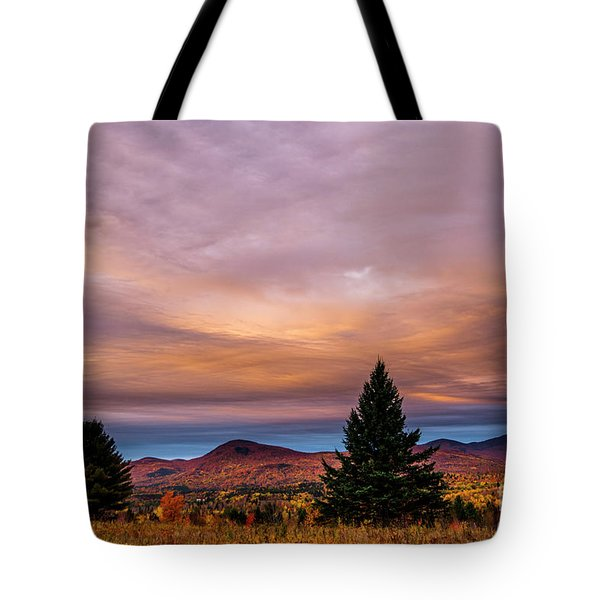 Heart Opeing In The Sky Tote Bag