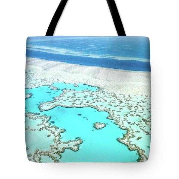 Heart Reef Tote Bag