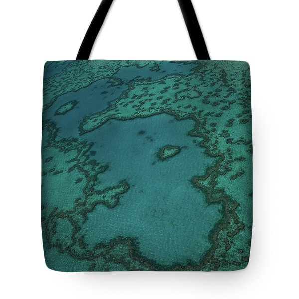 Heart Reef Tote Bag