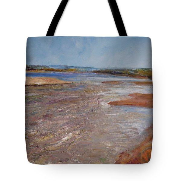 Confluence Of The Heart  Tote Bag by Helen Campbell
