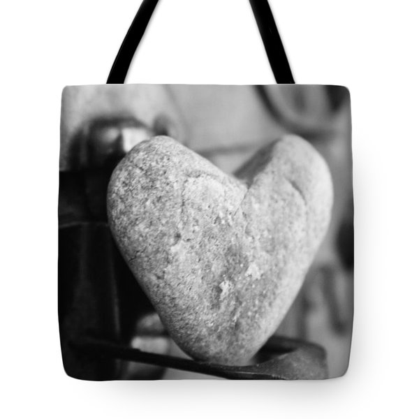 Our Love Is Like A Rock Solid Tote Bag by Toni Hopper