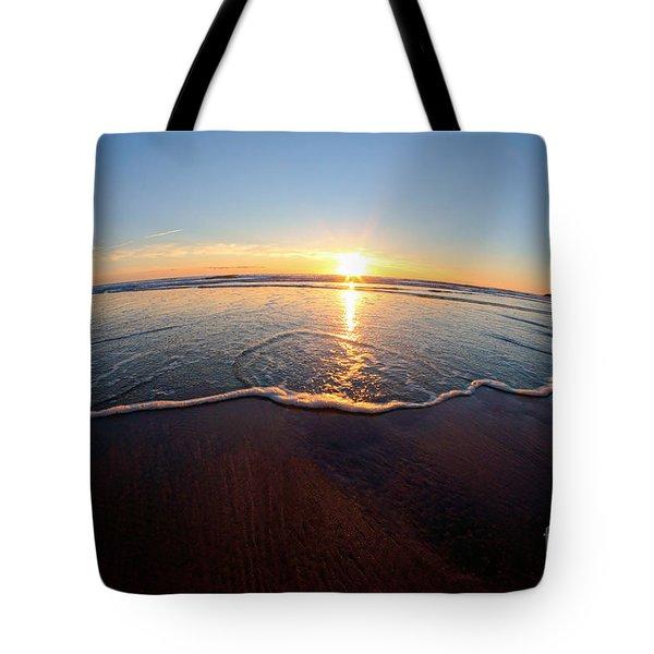 Heart Shape Wave Tote Bag