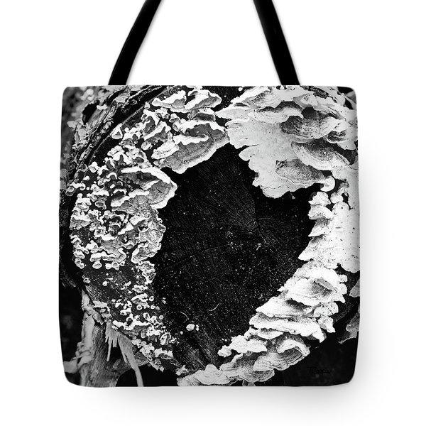 Heart Toadstool Tote Bag