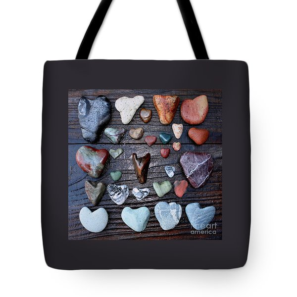 Heart Treasures  Tote Bag