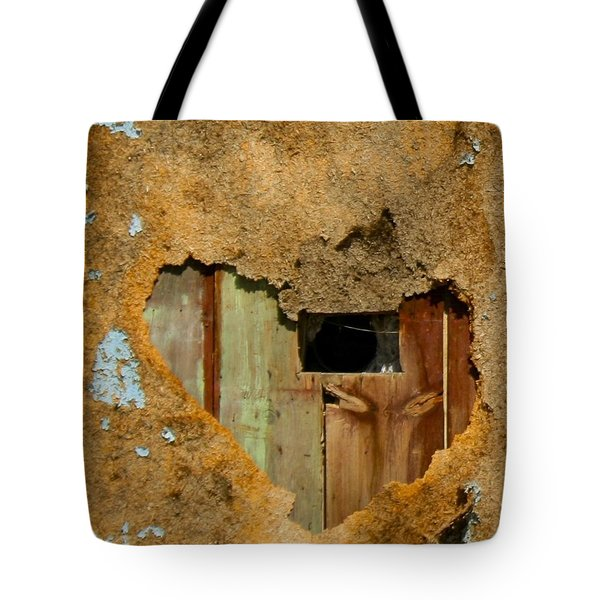 Heart Wall Tote Bag