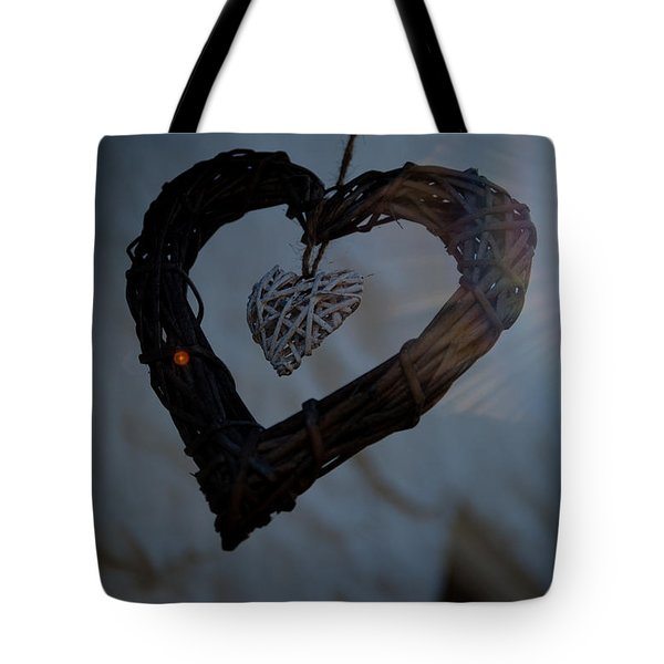 Heart With A Heart II Tote Bag