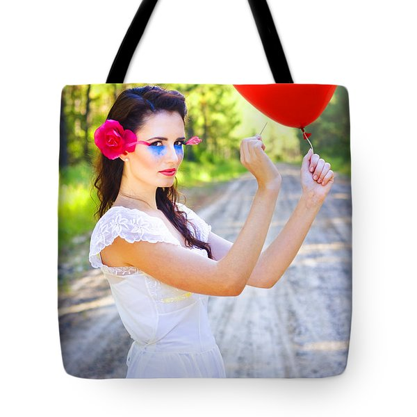 Tote Bag featuring the photograph Heartache And Heartbreak by Jorgo Photography - Wall Art Gallery