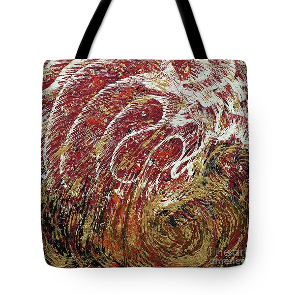 Heartbeat Tote Bag by Cathy Beharriell