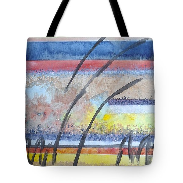 Tote Bag featuring the painting Heartbeat by Jacqueline Athmann