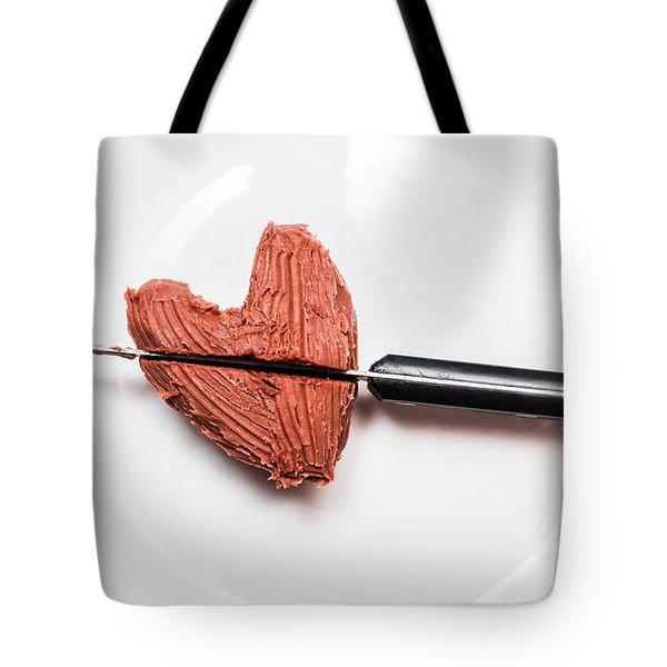 Heartbreak Cake Tote Bag