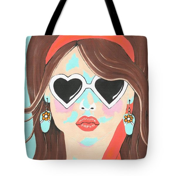 Tote Bag featuring the painting Heartbreaker by Kathleen Sartoris