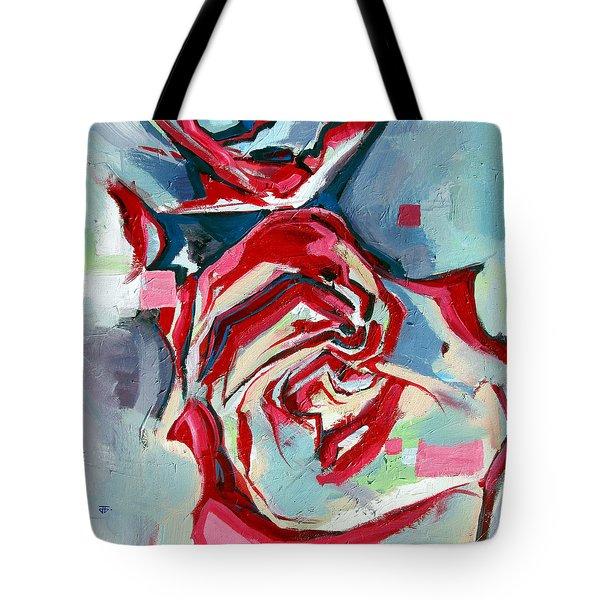 Heartfelt Rose Tote Bag