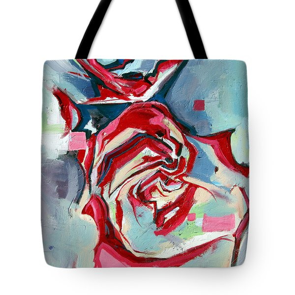 Heartfelt Rose Tote Bag