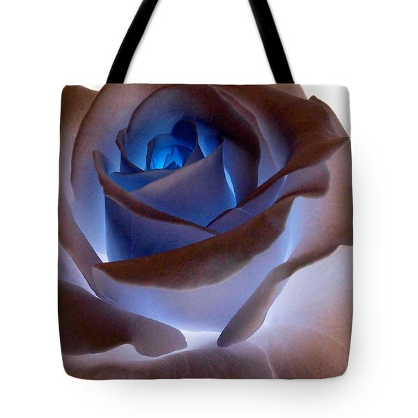 Heartglow Rose Tote Bag