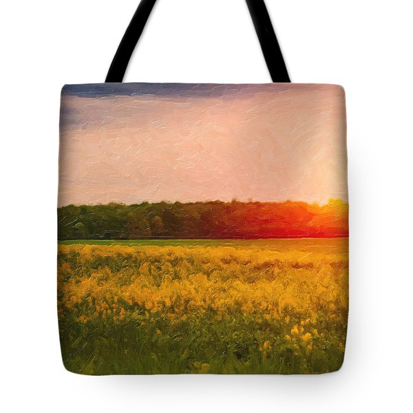 Heartland Glow Tote Bag