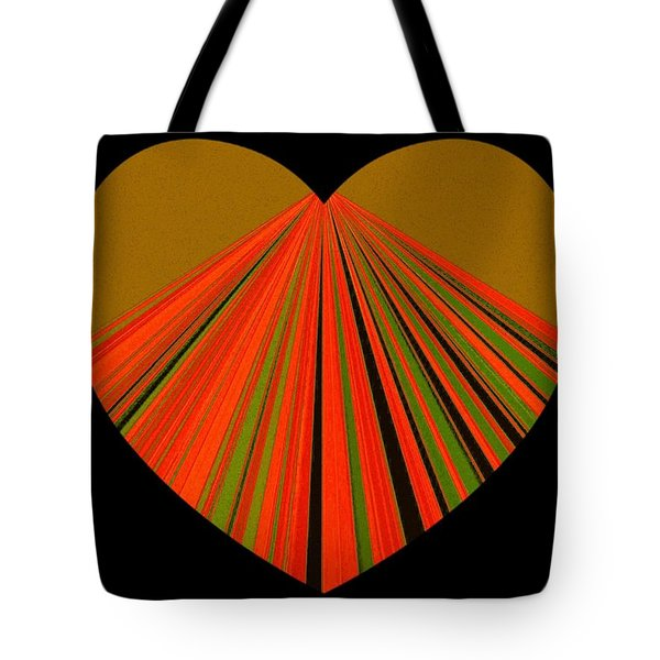 Heartline 5 Tote Bag
