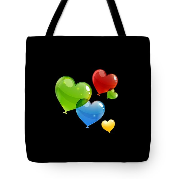Hearts 11 T-shirt Tote Bag