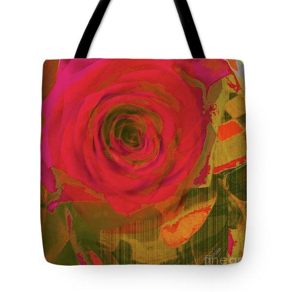 Hearts 'n Flowers-what Quarrel Tote Bag