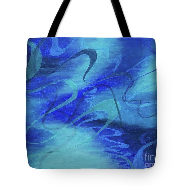 Heartsong Blue 1 Tote Bag