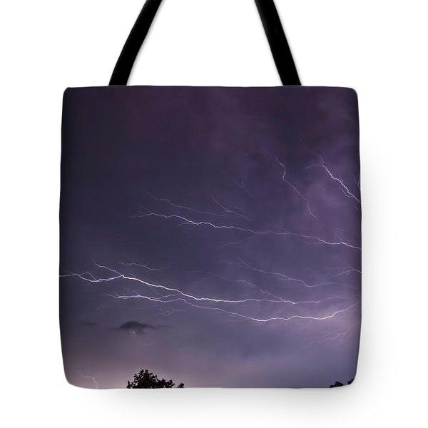 Heat Lightning Tote Bag