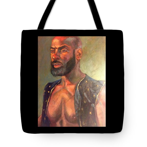Tote Bag featuring the painting Heat Merchant by JaeMe Bereal