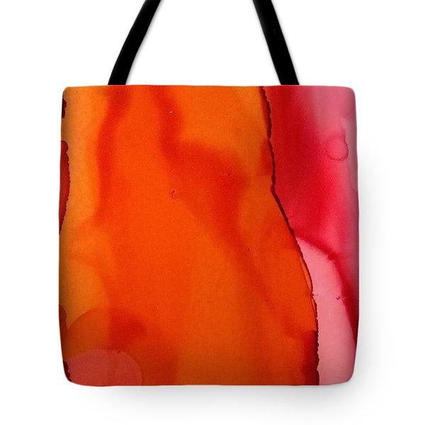 Heat Waves Tote Bag