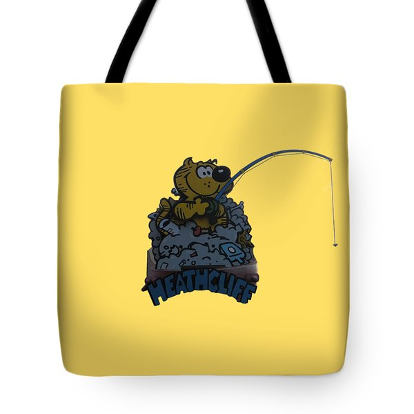 Tote Bag featuring the photograph Heathcliff by Tom Prendergast