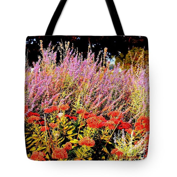Tote Bag featuring the photograph Heather And Sedum by Patricia L Davidson