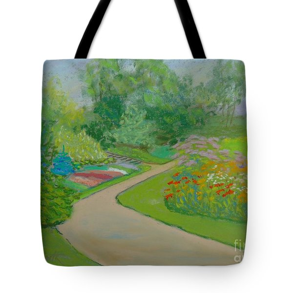 Heather Gardens Tote Bag