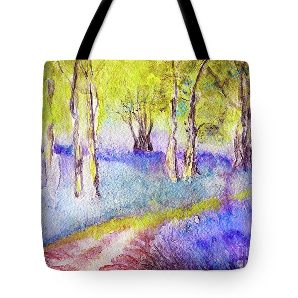 Heather Glade Tote Bag by Jasna Dragun