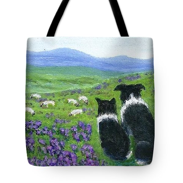 Heather Hills Watch Tote Bag