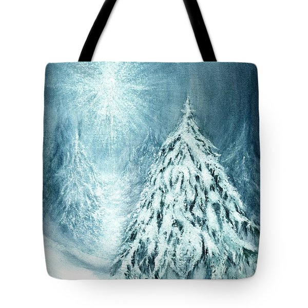 Heaven And Nature Sing  Tote Bag by Janine Riley
