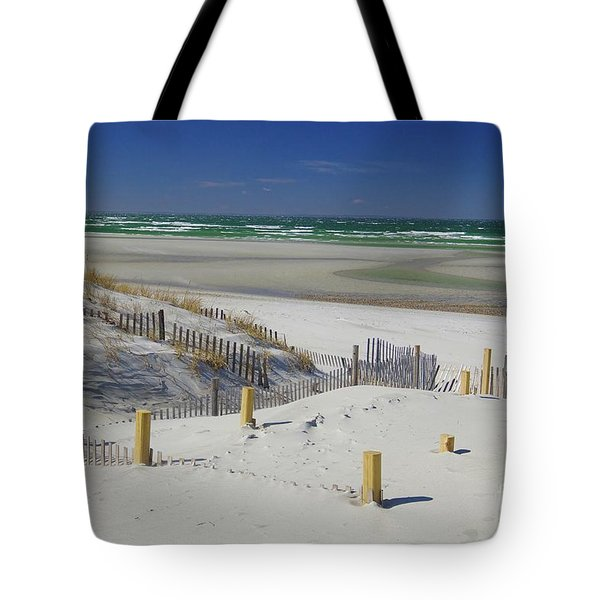 Heaven At Mayflower Beach Tote Bag