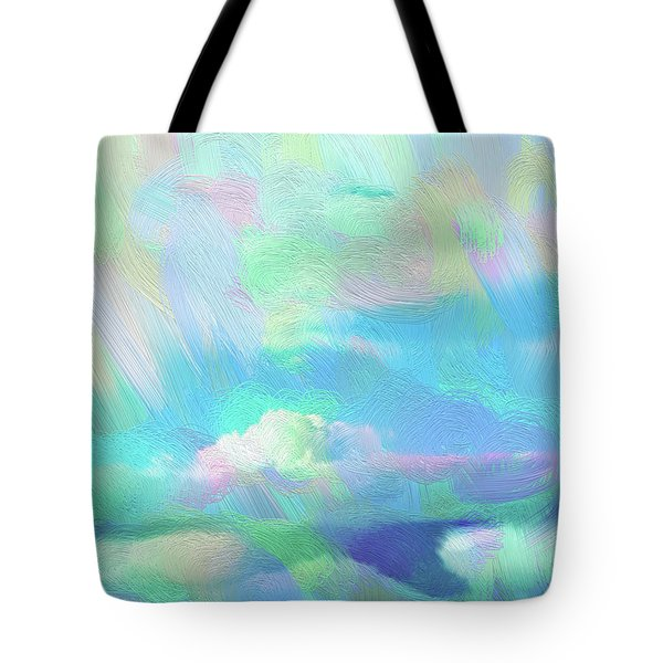 Heaven Tote Bag by Karen Nicholson