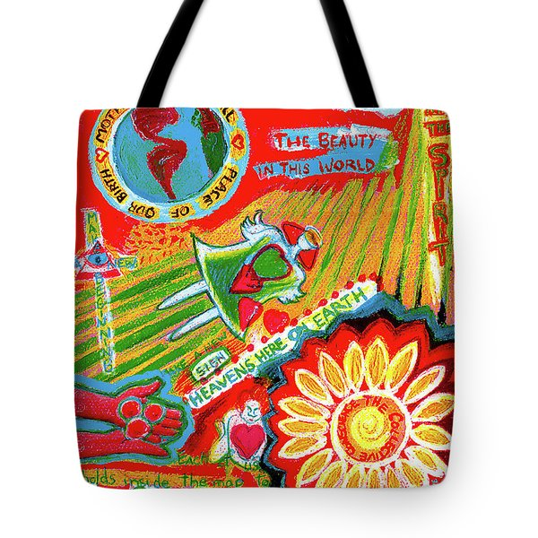 Heaven On Earth Tote Bag by Genevieve Esson
