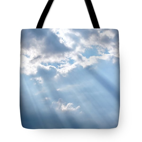 Heaven Opening Up Tote Bag
