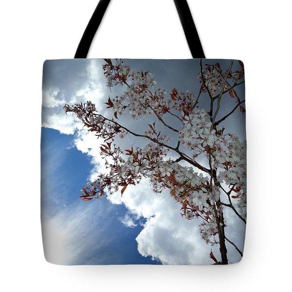 Heaven Shines Tote Bag