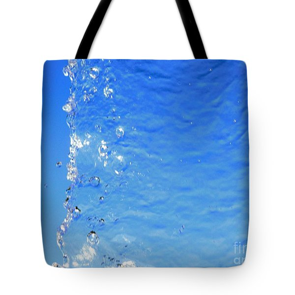 Tote Bag featuring the photograph Waterfall by Ray Shrewsberry