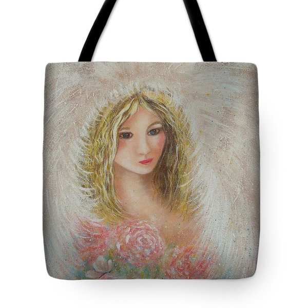 Heavenly Angel Tote Bag by Natalie Holland