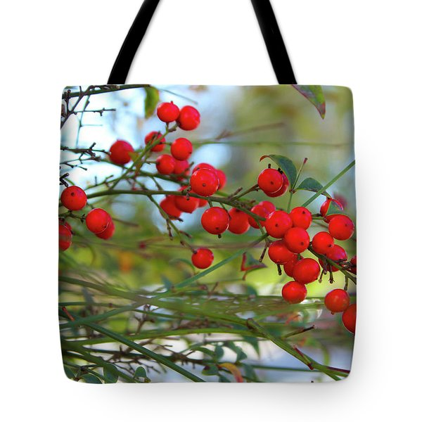 Heavenly Bamboo Tote Bag
