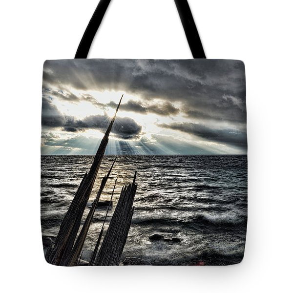 Heavenly Beams Tote Bag