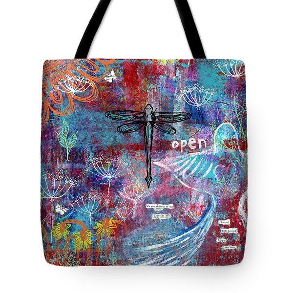 Heavenly Dew Tote Bag