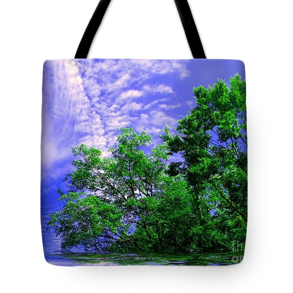Tote Bag featuring the photograph Heavenly by Elfriede Fulda