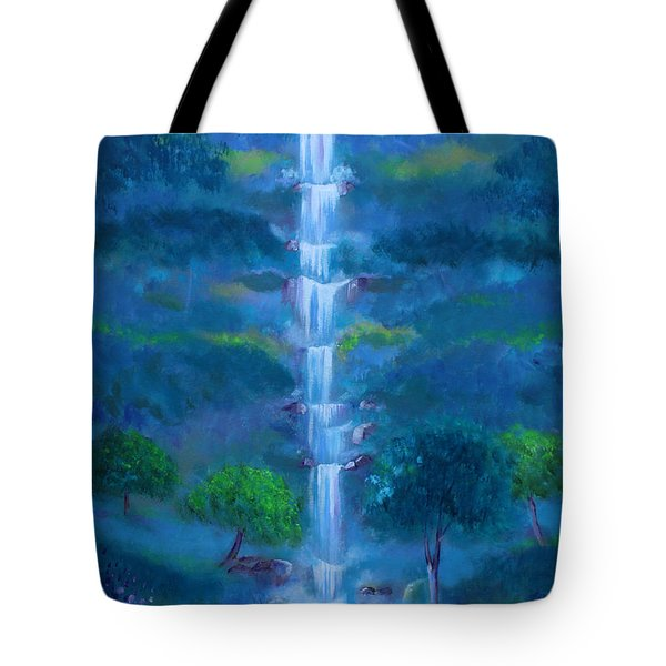 Heavenly Falls Tote Bag
