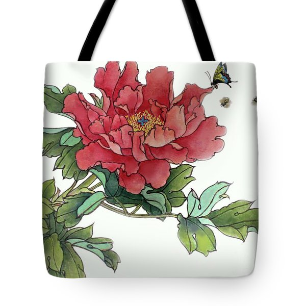 Heavenly Flower Tote Bag