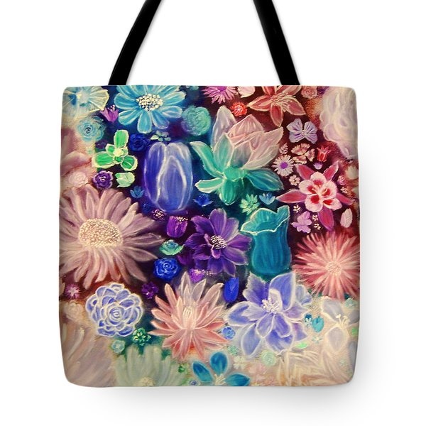 Heavenly Garden Tote Bag by Samantha Thome