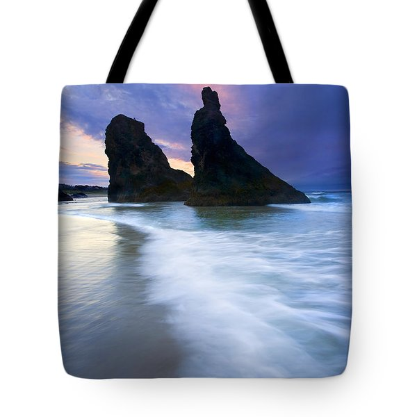 Heavenly Halo Tote Bag by Mike  Dawson
