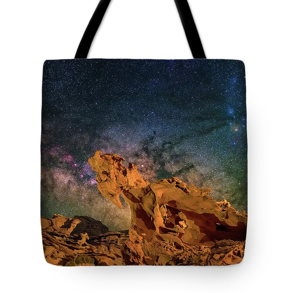 Heavenly Horses Tote Bag