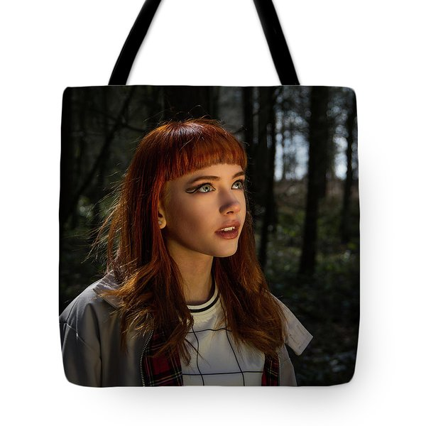 Tote Bag featuring the photograph Heavenly Light by Ian Thompson