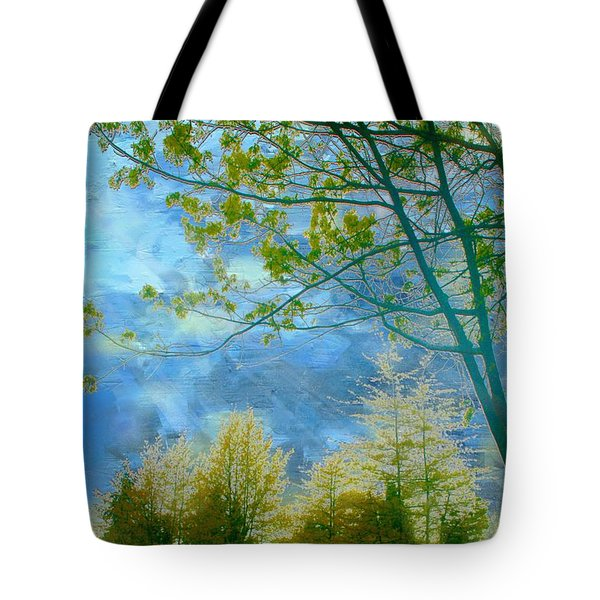 Heavenly Light II Tote Bag